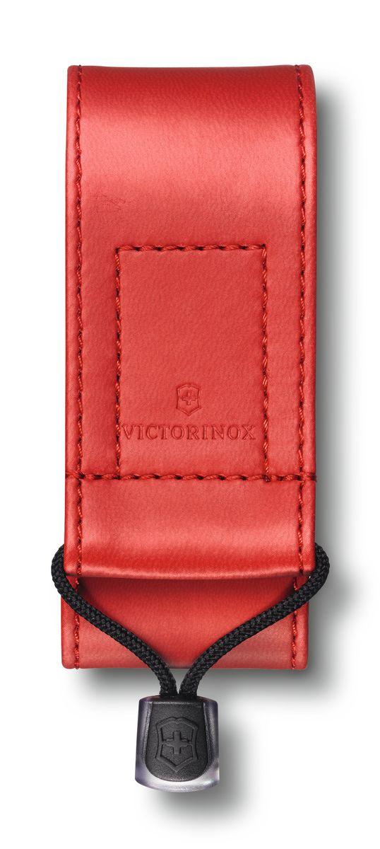 Чехол на ремень Victorinox 4.0480.1, цвет: красныйa026124Чехол для складных ножей Victorinox длиной 91 мм и толщиной в 2-4 слоя.Размеры: 42 x 40 x 94 ммМатериал: кожзаменительЦвет: красный