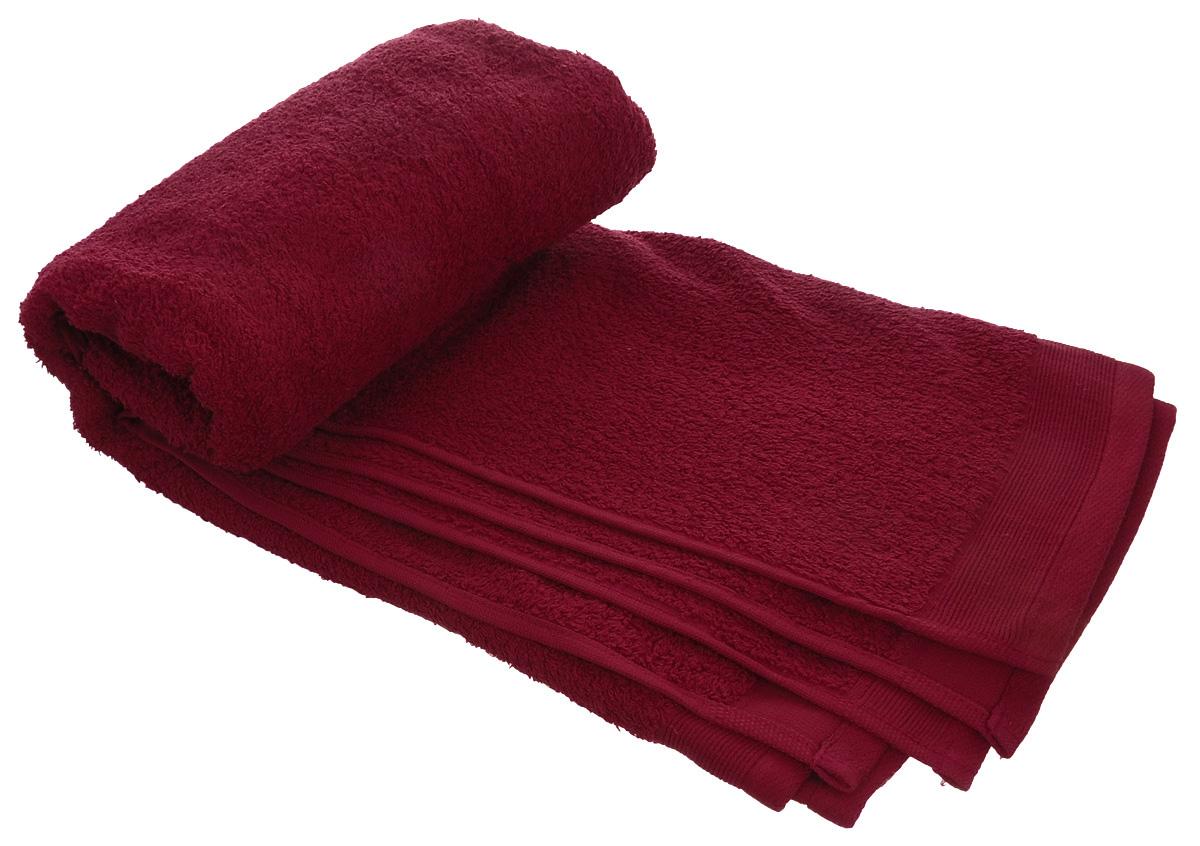 Полотенце махровое Guten Morgen, цвет: темно-красный, 70 х 140 смПМр-70-140Махровое полотенце Guten Morgen, изготовленное из натурального хлопка, прекрасно впитывает влагу и быстро сохнет. Высокая плотность ткани делает полотенце мягкими, прочными и пушистыми. При соблюдении рекомендаций по уходу изделие сохраняет яркость цвета и не теряет форму даже после многократных стирок. Махровое полотенце Guten Morgen станет достойным выбором для вас и приятным подарком для ваших близких. Мягкость и высокое качество материала, из которого изготовлено полотенце, не оставит вас равнодушными.