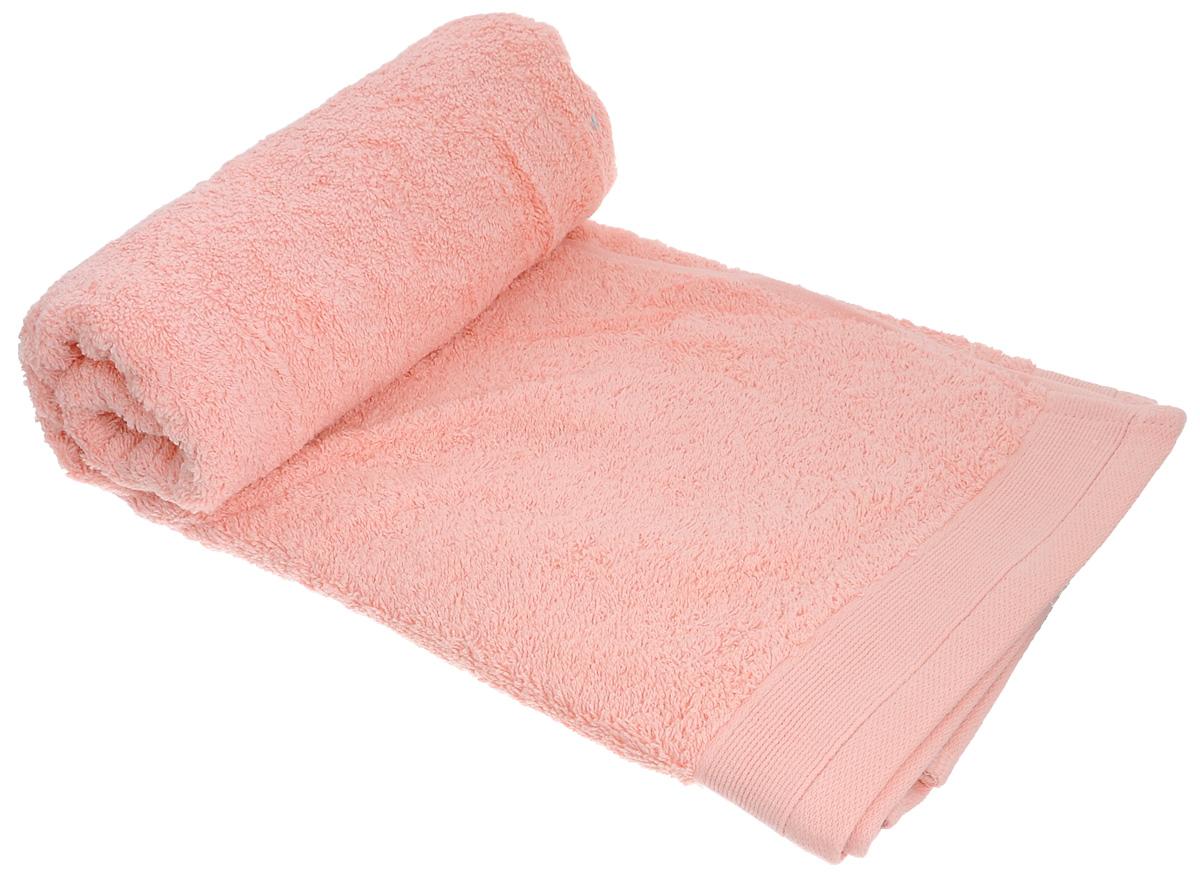 Полотенце махровое Guten Morgen, цвет: персиковый, 100 х 150 смПМп-100-150Махровое полотенце Guten Morgen, изготовленное из натурального хлопка, прекрасно впитывает влагу и быстро сохнет. Высокая плотность ткани делает полотенце мягкими, прочными и пушистыми. При соблюдении рекомендаций по уходу изделие сохраняет яркость цвета и не теряет форму даже после многократных стирок. Махровое полотенце Guten Morgen станет достойным выбором для вас и приятным подарком для ваших близких. Мягкость и высокое качество материала, из которого изготовлено полотенце, не оставит вас равнодушными.