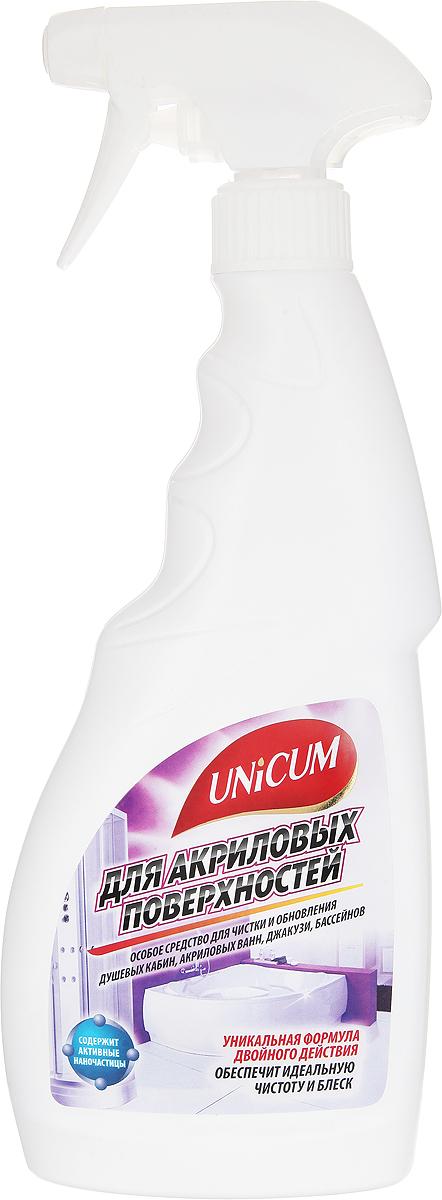 Средство для чистки акриловых ванн и душевых кабин Unicum, 500 мл68/5/2Высокоэффективное средство Unicum для чистки и обновления акриловых и пластиковых ванн, душевых кабин, джакузи и бассейнов. Средство бережно очищает полимерные покрытия, удаляя следы мыла, отложения солей жесткости, ржавчину, плесень и грибок, придает блеск и оставляет защитный нанослой, препятствующий последующим загрязнениям. Состав: подготовленная вода, органические кислоты 5-15%, минеральные кислоты 5-15%, АПАВ <5%, модификатор поверхности <5%, противогрибковое средство <5%, ароматизатор <5%, краситель <5%, соляная кислота <5%, цитронеллол, линалоол.