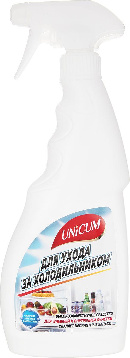 Средство для ухода за холодильником Unicum, 500 мл300292Высокоэффективное средство Unicum для внешней и внутренней очистки холодильника, встроенного и настольного кухонного оборудования и кухонной мебели. Средство бережно очищает все виды декоративных и гигиенических водостойких покрытий, включая пластики, ламинат, алюминий, лакированное дерево и нержавеющую сталь. Удаляет неприятные запахи, предотвращает появление плесени и размножение бактерий в труднодоступных местах и оставляет защитный слой, препятствующий последующим загрязнениям. Состав: деминерализованная вода, НПАВ <5%, модификатор поверхности <5%, противогрибковое средство <5%, ароматизатор <5%, консервант <5%, растворитель <5%.