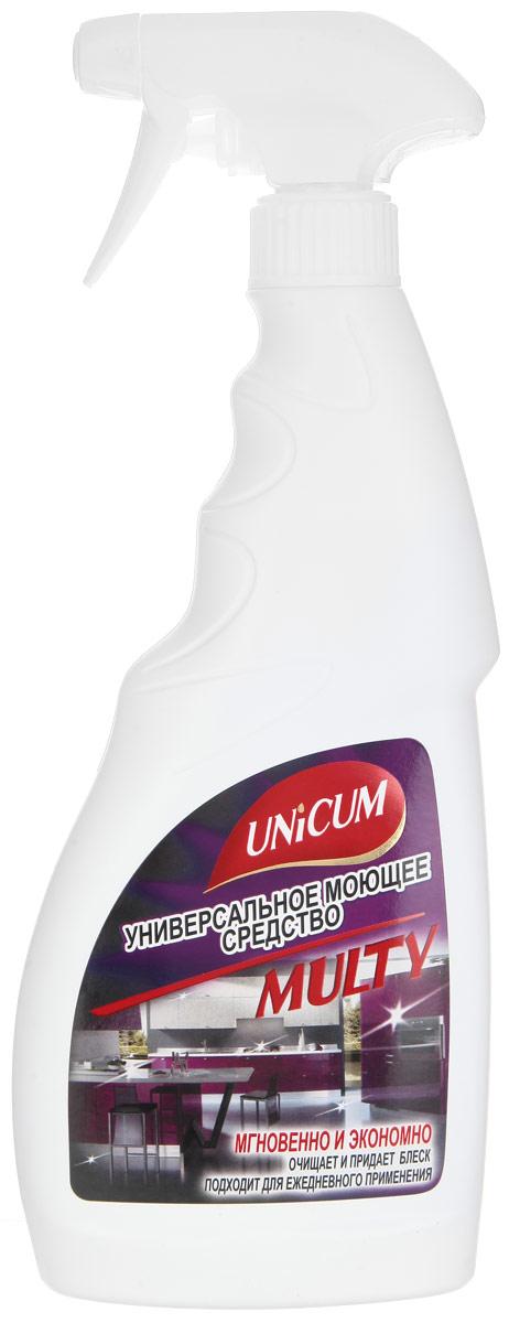 Универсальное моющее средство Unicum Multy, 500 мл301022Универсальное моющее средство Unicum Multy - мгновенно очищает и придает блеск любым поверхностям. Подходит для ежедневной уборки кухонных поверхностей из стекла, керамики, металла и пластика: стола, плиты, раковины, кафельной плитки, кухонных принадлежностей из фарфора, внутренних и внешних поверхностей СВЧ-печей, холодильника, вентиляционного отверстия, фасада кухонного гарнитура и столешниц. Удаляет жир и известковый налет, а также пятна от пищевых продуктов не повреждая поверхность, создает защитный слой. Устраняет неприятные запахи. Состав: деминерализованная вода, менее 5% НПАВ, 5-15% растворитель, менее 5% функциональные добавки, менее 5% краситель, менее 5% консервант, менее 5% ароматизатор. Товар сертифицирован.
