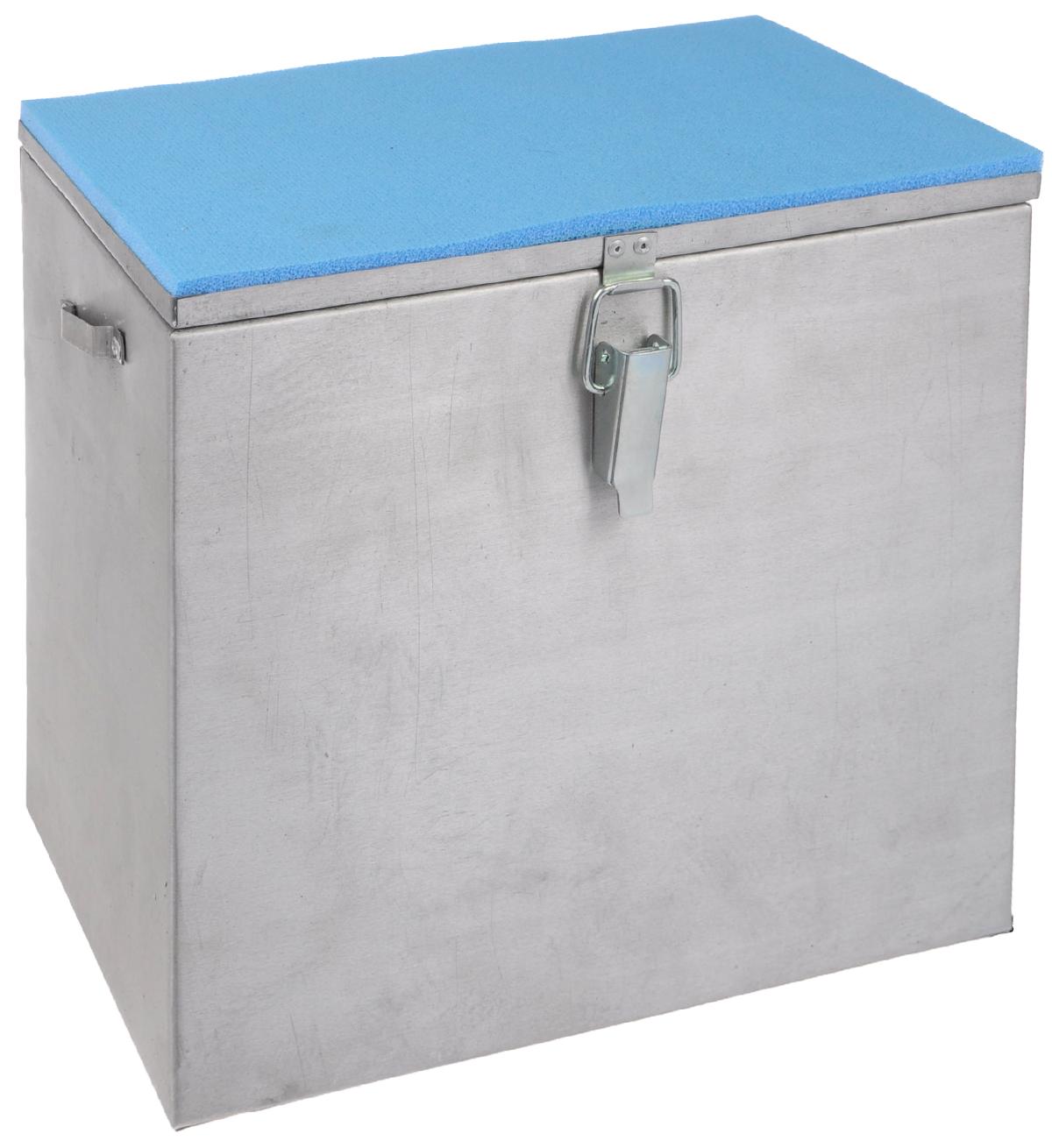 """Ящик рыболова """"Рост"""", алюминиевый, 30 см х 19 см х 29 см. 2446"""