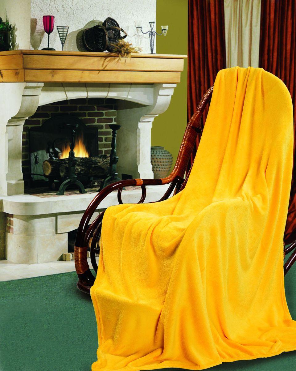 Покрывало Гутен Морген Дыня, цвет: желтый, 150 х 200 смПФД-150-200Покрывало Гутен Морген Дыня, выполненное из флиса (100% полиэстера), гармонично впишется в интерьер вашего дома и создаст атмосферу уюта и комфорта. Благодаря мягкой и приятной текстуре, глубокому и насыщенному цвету, покрывало станет модной, практичной и уютной деталью вашего интерьера. Такое покрывало согреет в прохладную погоду и будет превосходно дополнять интерьер вашей спальни. Высочайшее качество материала гарантирует безопасность не только взрослых, но и самых маленьких членов семьи. Покрывало может подчеркнуть любой стиль интерьера, задать ему нужный тон - от игривого до ностальгического. Покрывало - это такой подарок, который будет всегда актуален, особенно для ваших родных и близких, ведь вы дарите им частичку своего тепла!