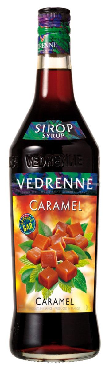 Vedrenne Карамель сироп, 1 лSVDRCA-010B01Сироп Карамель - это универсальная вкусовая добавка, использующаяся для ароматизации различных сладких блюд и напитков. Карамельный сироп традиционно производится на основе сахара и очищенной питьевой воды, что делает его натуральным ароматизатором. У него красивый янтарный цвет и классический сладковатый букет с тонами карамели и жженого сахара. Сиропы изготавливаются на основе натурального растительного сырья, фруктовых и ягодных соков прямого отжима, цитрусовых настоев, а также с использованием очищенной воды без вредных примесей, что позволяет выдержать все ценные и полезные свойства натуральных фруктово-ягодных плодов и трав. В состав сиропов входит только натуральный сахар, произведенный по традиционной технологии из сахарозы. Благодаря высокому содержанию концентрированного фруктового сока, сиропы Vedrenne обладают изысканным ароматом и натуральным вкусом, являются эффективным подсластителем при незначительной калорийности. Они оптимизируют уровень влажности и...