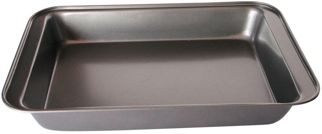Противень BK-39989467247,5*31,5*5см, корпус 0,4мм, антиприг. покрытие Goldflon . Состав: углеродистая сталь.
