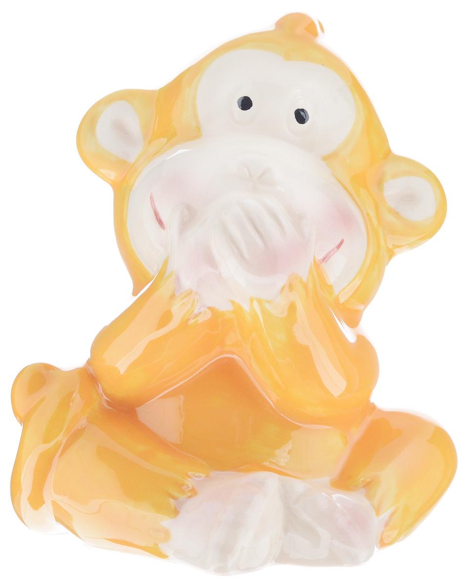 Сувенир Sima-land Обезьянка игривая, высота 8,5 см. 1056095NLED-405-0.5W-MСувенир Sima-land Обезьянка игривая выполнен из высококачественной керамики в виде забавной обезьянки. Такой сувенир станет отличным подарком родным или друзьям на Новый год, а также он украсит интерьер вашего дома или офиса.