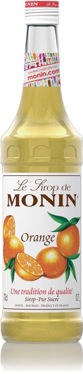 Monin Апельсин сироп, 0,7 лSMONN0-000066Сладкий и терпкий, вкусный и сочный апельсин, любимый во всем мире, происходит от древнего и кислого на вкус дикого китайского предшественника. Все в современном плоде апельсина привлекательно - цвет, свежий аромат, острый сладкий вкус. Апельсины, как и другие цитрусовые, употребляются свежими или в виде сока. Вкус плода апельсина и корки также большое удовольствие в мармеладе, ароматизаторах и кондитерских изделиях, и, конечно в сиропе Monin Апельсин. ВКУС Запах апельсиновой корки, вкус апельсиновых цукатов. ПРИМЕНЕНИЕ Коктейли, газированные напитки, фруктовые пунши и чай. Сиропы Monin выпускает одноименная французская марка, которая известна как лидирующий производитель алкогольных и безалкогольных сиропов в мире. В 1912 году во французском городке Бурже девятнадцатилетний предприниматель Джордж Монин основал собственную компанию, которая специализировалась на производстве вин, ликеров и сиропов. Место для завода было...