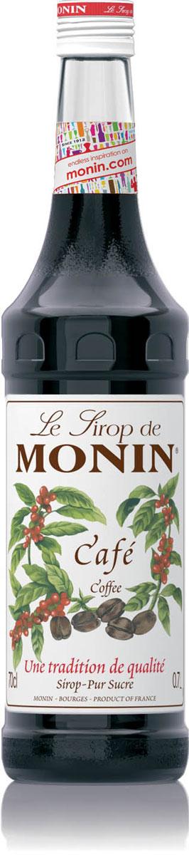 Monin Кофейный сироп, 0,7 лSMONN0-000048Кофейный сироп Monin имеет интенсивный вкус кофе и отлично подходит для десертных напитков и коктейлей. Кофе - широко известный напиток, сделанный из семян кофе, более широко названных кофейными зернами. Чтобы сделать то, что является одним из самых популярных напитков во всем мире, кофейные зерна должны быть высушены, обжарены и затем вариться. Запах кофе признан хорошим средством восстановить аппетит и освежить обонятельные рецепторы. Сиропы Monin выпускает одноименная французская марка, которая известна как лидирующий производитель алкогольных и безалкогольных сиропов в мире. В 1912 году во французском городке Бурже девятнадцатилетний предприниматель Джордж Монин основал собственную компанию, которая специализировалась на производстве вин, ликеров и сиропов. Место для завода было выбрано не случайно: город Бурже находился в непосредственной близости от крупных сельскохозяйственных районов - главных поставщиков свежих ягод и фруктов.