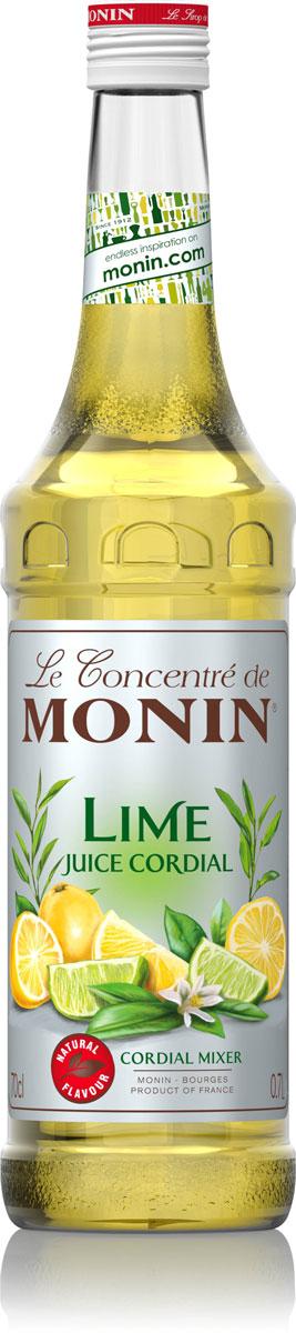 Monin Лайм Джус сироп, 1 лSMONN0-000055Сироп Лайм Джус состоит из концентрированного сока лайма, сока лимона, воды и сахара. Сиропы Monin выпускает одноименная французская марка, которая известна как лидирующий производитель алкогольных и безалкогольных сиропов в мире. В 1912 году во французском городке Бурже девятнадцатилетний предприниматель Джордж Монин основал собственную компанию, которая специализировалась на производстве вин, ликеров и сиропов. Место для завода было выбрано не случайно: город Бурже находился в непосредственной близости от крупных сельскохозяйственных районов - главных поставщиков свежих ягод и фруктов. Производство сиропов стало ключевым направлением деятельности компании Monin только в 1945 году, когда пост главы предприятия занял потомок основателя - Пол Монин. Именно под его руководством ассортимент марки пополнился разнообразными сиропами из натуральных ингредиентов, которые молниеносно заслужили блестящую репутацию в кругу поклонников кофейных ...