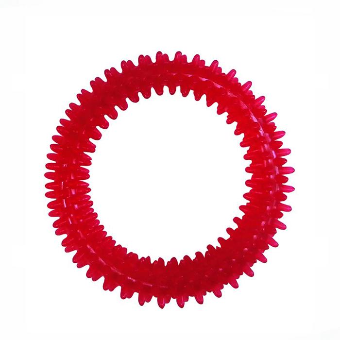 Игрушка Ziver Кольцо игольчатое красное 11 см40.ZV.117Игрушка ZIVER Кольцо игольчатое красное 11 см