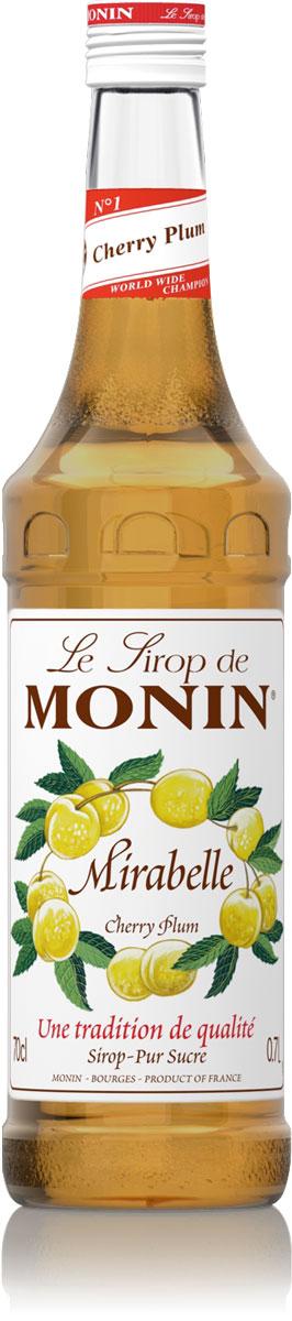 Monin Алыча сироп, 0,7 лSMONN0-000070Алыча - ее французское название Мирабель происходит от латинского Mirabilis, что означает красивый. Сироп Monin Алыча даст вам вкусный и плодотворной аромат. ВКУС Вкус спелой сливы, сладкий пикантный вкус с небольшими кислыми нотками. ПРИМЕНЕНИЕ Пиво, соки, коктейли, чай. Сиропы Monin выпускает одноименная французская марка, которая известна как лидирующий производитель алкогольных и безалкогольных сиропов в мире. В 1912 году во французском городке Бурже девятнадцатилетний предприниматель Джордж Монин основал собственную компанию, которая специализировалась на производстве вин, ликеров и сиропов. Место для завода было выбрано не случайно: город Бурже находился в непосредственной близости от крупных сельскохозяйственных районов - главных поставщиков свежих ягод и фруктов. Производство сиропов стало ключевым направлением деятельности компании Monin только в 1945 году, когда пост главы предприятия занял потомок...