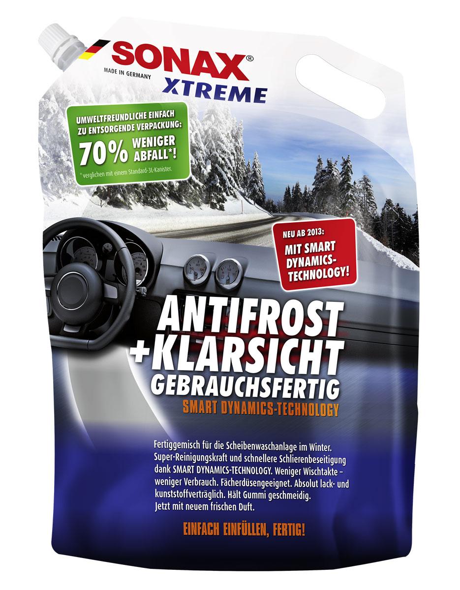 Автостеклоочиститель зимний Xtreme -20 SONAX (3литра)232441Не замерзает в бачке стеклоомывателя. Может смешиваться с водой любой степени жесткости. Быстро удаляет загрязнения и обеспечивает чистый обзор. Не повреждает пластик и лакокрасочное покрытие. Не повреждает антибликовое покрытие стекол. Идеально подходит для ксеноновых фар. Содержит глицерин. Не повреждает стеклоочищающие щетки и продлевает срок их службы.