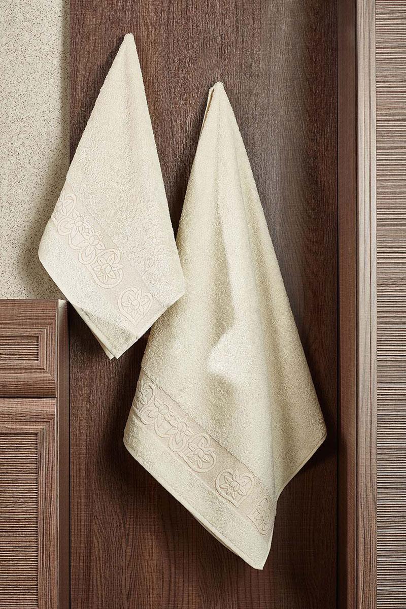 Полотенце махровое Primavelle Deni, цвет: слоновая кость, 70 см х 140 см2857014-D30Махровое полотенце Primavelle Deni - невероятно стильный и современный аксессуар для вашей ванной. Полотенце, изготовленное из натурального хлопка, подарит массу положительных эмоций и приятных ощущений. Изделие отличается нежностью и мягкостью материала, утонченным дизайном и превосходным качеством. Оно прекрасно впитывает влагу, быстро сохнет и не теряет своих свойств после многократных стирок. Махровое полотенце Primavelle Deni станет достойным выбором для вас и приятным подарком для ваших близких.