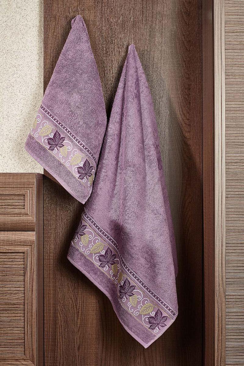 Полотенце Lea 70х140 (лиловый)2857014-L39Махровое полотенце – невероятно стильный и современный аксессуар для Вашей ванной. Разнообразие расцветок впечатляет. Благодаря высокой плотности махры Ваше полотенце прослужит долгие годы, даря тепло и уют Вашим близким.
