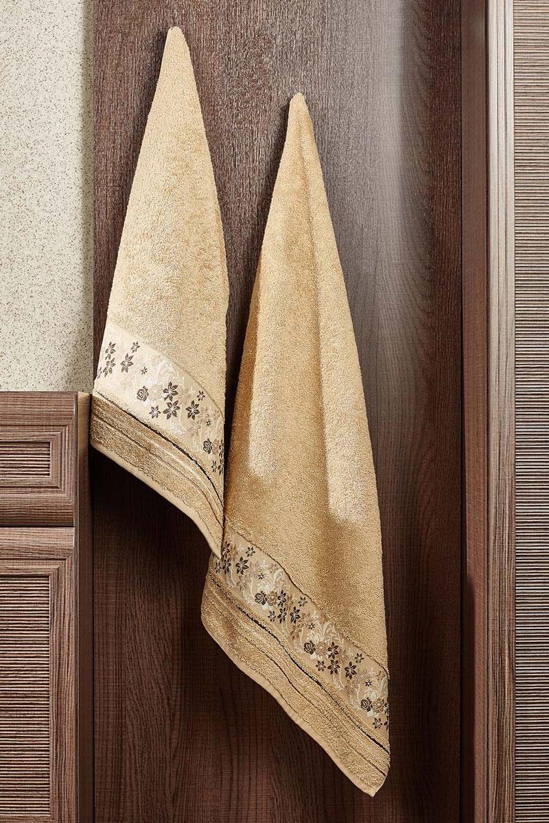 Полотенце Mile 70х140 (бежево-песочный)2857014-M52Махровое полотенце – невероятно стильный и современный аксессуар для Вашей ванной. Разнообразие расцветок впечатляет. Благодаря высокой плотности махры Ваше полотенце прослужит долгие годы, даря тепло и уют Вашим близким.