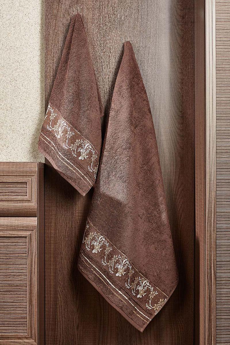 Полотенце Mile 70х140 (т. коричневый)2857014-M05Махровое полотенце – невероятно стильный и современный аксессуар для Вашей ванной. Разнообразие расцветок впечатляет. Благодаря высокой плотности махры Ваше полотенце прослужит долгие годы, даря тепло и уют Вашим близким.
