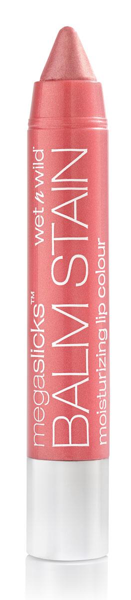 Wet n Wild Блеск - Бальзам Для Губ Mega Slick Balm Stain pinky promise 3 грE128Суперувлажняющий бальзам для губ. Великолепная формула, обогащенная маслом ягоды асаи, защищает нежную кожу губ, предотвращая обветривание. Аккуратно нанести на губы.