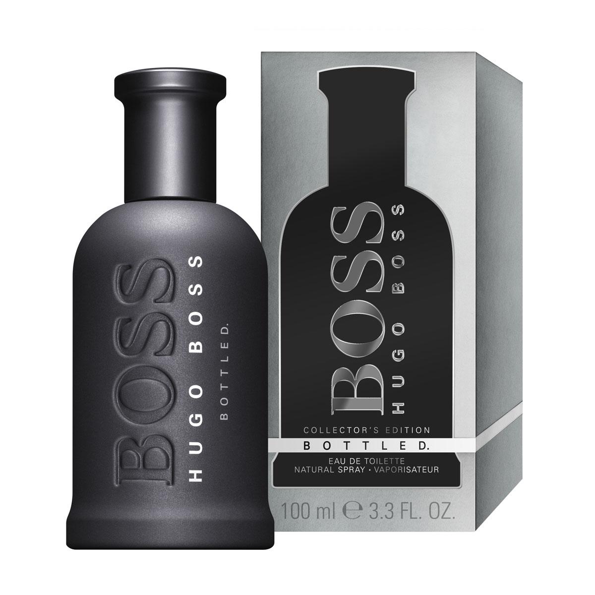 Hugo Boss Bottled Collectors Edition Туалетная вода 50 мл0737052806235Boss Bottled - бесспорно, один из самых успешных мужских ароматов. С тех пор как Boss Bottled появился на рынке в 1998 году, он входит в 10-ку бестселлеров. Культовый флакон с простыми, лаконичными формами стал классикой. Рельефный логотип и серебристая матовая крышечка довершают дизайн. Стильный, элеганттный, сдержанный - узнаваемый Boss. В композиции звучит красное яблоко, сладковатое, но свежее, и древесные ноты, которые придают аромату глубину и мужественность. Boss Bottled - завершающий элемент ежедневного гардероба успешных и амбициозных мужчин во всем мире. Boss - мужественный, уверенный бренд: Идеальный образ для Достижения успеха. Захватывающий, Смелый, Чувственный, Изысканный, но при этом абсолютно Мужественный аромат.