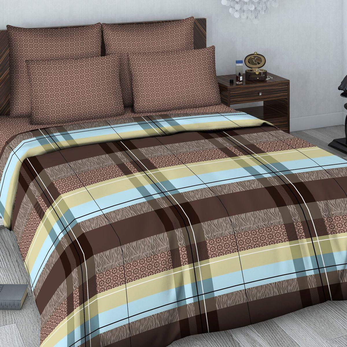 Комплект белья Василиса, 2-спальный, наволочки 70х70. 604_1/2DAVC150Комплект постельного белья Василиса состоит из пододеяльника, простыни и двух наволочек. Белье изготовлено из высококачественного сатина (100% хлопка). Постельное белье представляет собой блестящую и плотную ткань. Ткань очень приятна на ощупь, сатиновое постельное белье долговечно и выдерживает большое число стирок.Приобретая комплект постельного белья Василиса, вы можете быть уверены в том, что покупка доставит вам удовольствие и подарит максимальный комфорт.