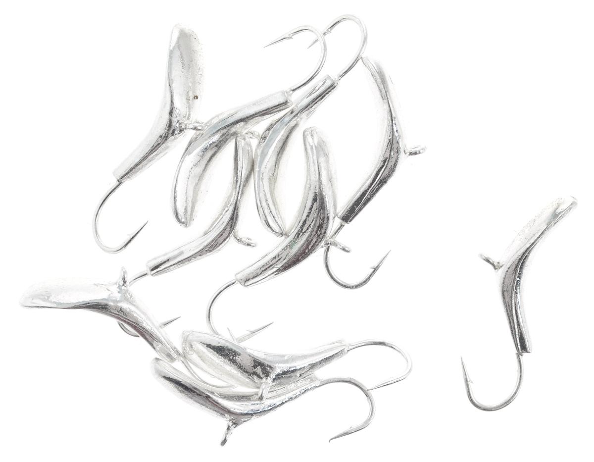 Мормышка вольфрамовая Dixxon-Russia, комар, цвет: серебряный, диаметр 4 мм, 1,1 г, 10 шт03/1/12Мормышка Dixxon-Russia изготовлена из вольфрама и оснащена крючком. Главное достоинство вольфрамовой мормышки - большой вес при малом объеме. Эта особенность дает большие преимущества при ловле, так как позволяет быстро погрузить приманку на требуемую глубину и лучше чувствовать игру мормышки.Диаметр мормышки: 4 мм.