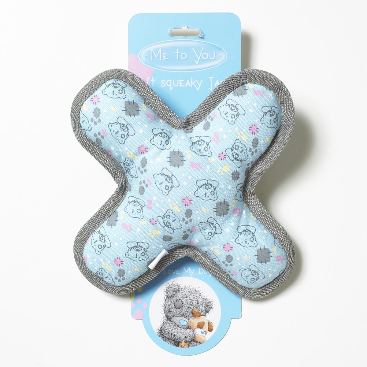 Игрушка для собак Me To You Крестик-пищалка7003Игрушка для собак Me To You Крестик-пищалка обязательно понравится вашему питомцу. Игрушка выполнена в виде креста и украшена изображениями мишек Тедди от Me To You. Крестик изготовлен из плотного текстиля, внутри - мягкий полиэстеровый наполнитель. В игрушку вшита пищалка, что привлечет внимание вашего питомца. Звук пищалки негромкий и не испугает собаку. Игрушка подходит для щенков и собак некрупных пород.