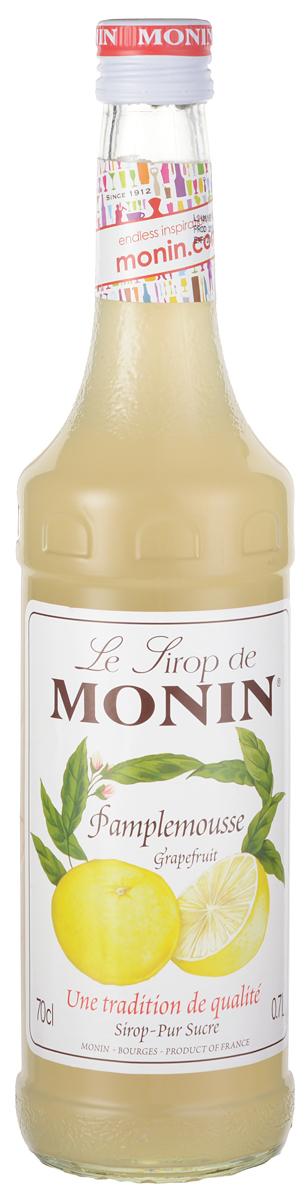 Monin Грейпфрут сироп, 0,7 лSMONN0-000087Грейпфрут - плод субтропического цитрусового дерева. Эти вечнозеленые деревья производят фрукты с желто-оранжевой кожей, цвет мякоти которых варьируется от белого до розового или красного в зависимости от его сорта. На вкус грейпфрут в зависимости от сорта колеблется от очень кислого или даже горького, до сладкого и терпкого. Сироп Monin Грейпфрут имеет ароматный кислый вкус. ВКУС Сильный запах эфирных масел грейпфрута и цитрусовых. Освежающий, сладкий и кислый вкус грейпфрута. ПРИМЕНЕНИЕ Газированные напитки, коктейли, вина, чай, коктейли. Сиропы Monin выпускает одноименная французская марка, которая известна как лидирующий производитель алкогольных и безалкогольных сиропов в мире. В 1912 году во французском городке Бурже девятнадцатилетний предприниматель Джордж Монин основал собственную компанию, которая специализировалась на производстве вин, ликеров и сиропов. Место для завода было выбрано не случайно: город Бурже находился в непосредственной...