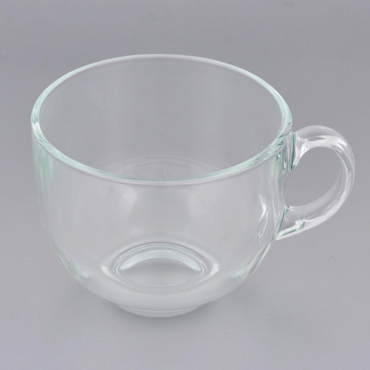 Кружка Luminarc Джамбо, цвет: прозрачный, 500 мл115510Кружка Luminarc Джамбо изготовлена из упрочнённого стекла. Такая кружка прекрасно подойдет для горячих и холодных напитков. Она дополнит коллекцию вашей кухонной посуды и будет служить долгие годы. Можно использовать в посудомоечной машине и СВЧ. Объем кружки: 500 мл. Диаметр кружки (по верхнему краю): 10,5 см. Высота стенки кружки: 8,5 см.