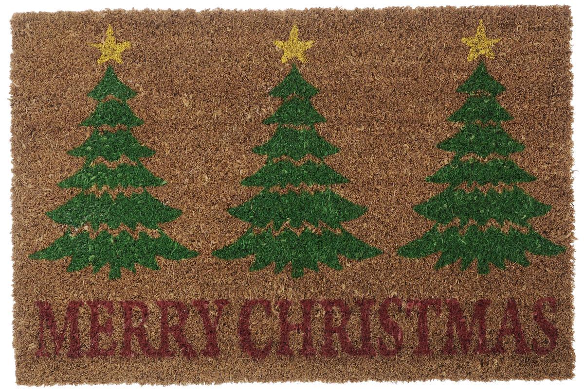 Коврик придверный Gardman Merry Christmas, 40 см х 60 см82584XSПридверный коврик Gardman Merry Christmas изготовлен из кокосового волокна с основой из ПВХ. Имеет жесткий ворс. Можно использовать отдельно, либо с рамкой на резиновой основе для сменных ковриков. Устойчив к любым погодным условиям. Отличается прочностью и долгим сроком службы.