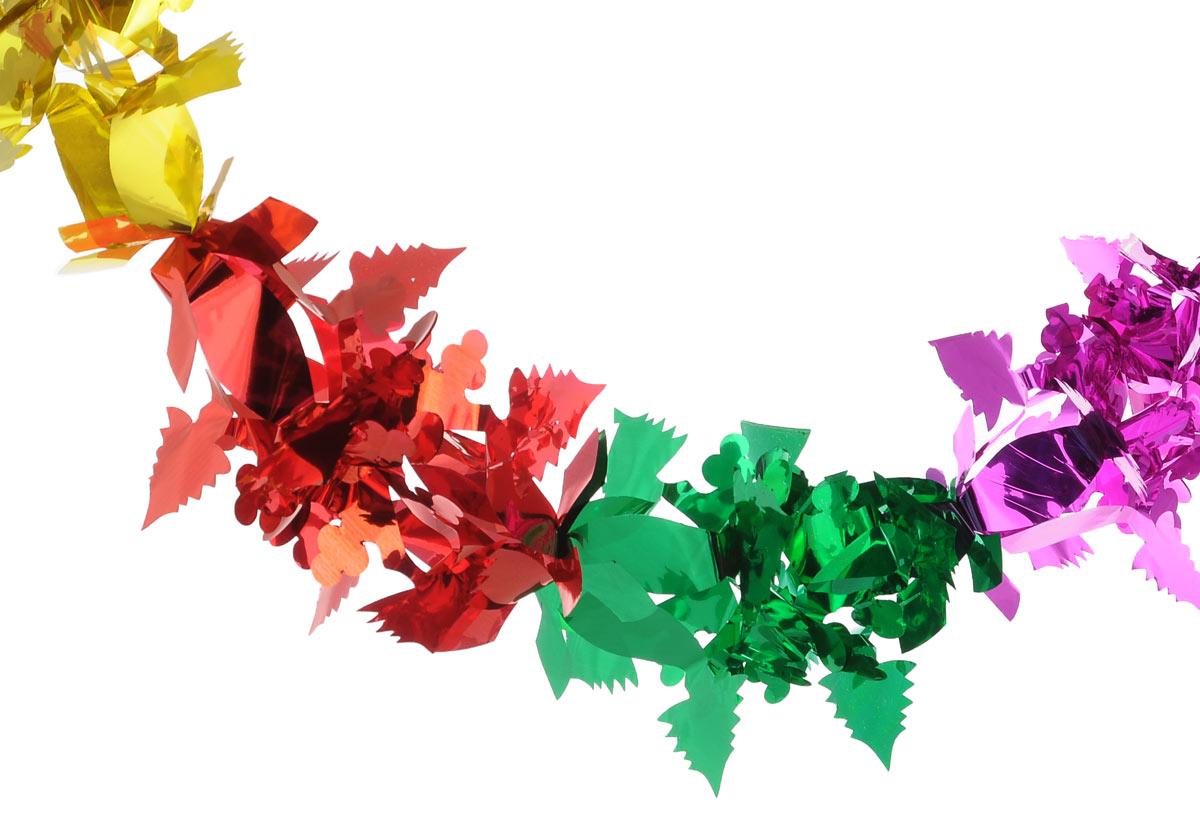 Новогодняя гирлянда Феникс-Презент Снежинка с елочками, длина 2,6 м30981Новогодняя гирлянда Феникс-Презент Снежинка с елочками состоит из серии разноцветных фигурок, изготовленных из ПЭТ (полиэтилентерефталата). Изделие легко складывается и раскладывается. Новогодние украшения несут в себе волшебство и красоту праздника. Они помогут вам украсить дом к предстоящим праздникам и оживить интерьер по вашему вкусу. Создайте в доме атмосферу тепла, веселья и радости, украшая его всей семьей. Размер фигурки (в сложенном виде): 18 см х 18 см.