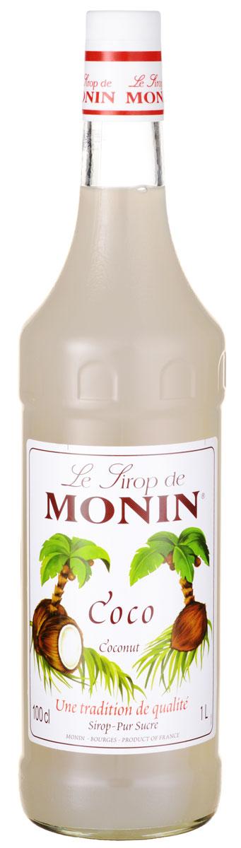 Monin Кокос сироп, 1 лSMONN0-000038Кокосовый орех относится к ореху кокосовой пальмы, которая растет в тропических странах. Питательный кокосовый орех и его молоко широко используется в напитках и приготовлении пищи, так как сладкий вкус кокоса хорошо сочетается со сладким, горьким и соленым. Позвольте сиропу Monin Кокос придать чистый кокосовый аромат всем вашим тропическим вдохновленным напиткам. Сиропы Monin выпускает одноименная французская марка, которая известна как лидирующий производитель алкогольных и безалкогольных сиропов в мире. В 1912 году во французском городке Бурже девятнадцатилетний предприниматель Джордж Монин основал собственную компанию, которая специализировалась на производстве вин, ликеров и сиропов. Место для завода было выбрано не случайно: город Бурже находился в непосредственной близости от крупных сельскохозяйственных районов - главных поставщиков свежих ягод и фруктов. Производство сиропов стало ключевым направлением деятельности компании Monin...