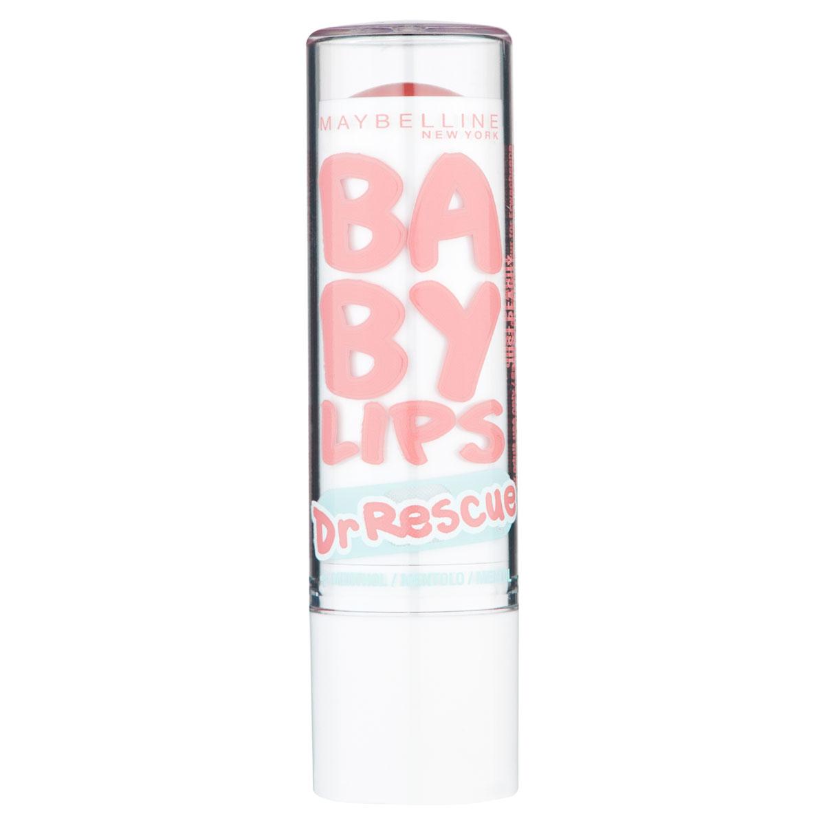 Maybelline New York Бальзам для губ Baby Lips, Доктор Рескью, восстанавливающий и увлажняющий, Эвкалипт, 1,78 млБ33041Бейби Липс Доктор Рескью Эвкалипт максимально увлажняет губы. Результат виден уже через 60 секунд после нанесения!