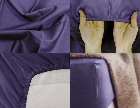Простыня на резинке Хлопковый Край Premium, цвет: темно-синий, 208 см х 166 см160с-ПНРПростыня на резинке Хлопковый Край Premium, изготовленная из сатина (100% хлопок), будет превосходно смотреться с любыми комплектами белья. Ткань приятная на ощупь, при этом она прочная, хорошо сохраняет форму и легко гладится. Простыня прошита резинкой, что обеспечивает более комфортный отдых, так как она прочно удерживается на матрасе и избавляет от необходимости часто ее поправлять. Простынь подходит для матраса размером 200 см х 160 см.