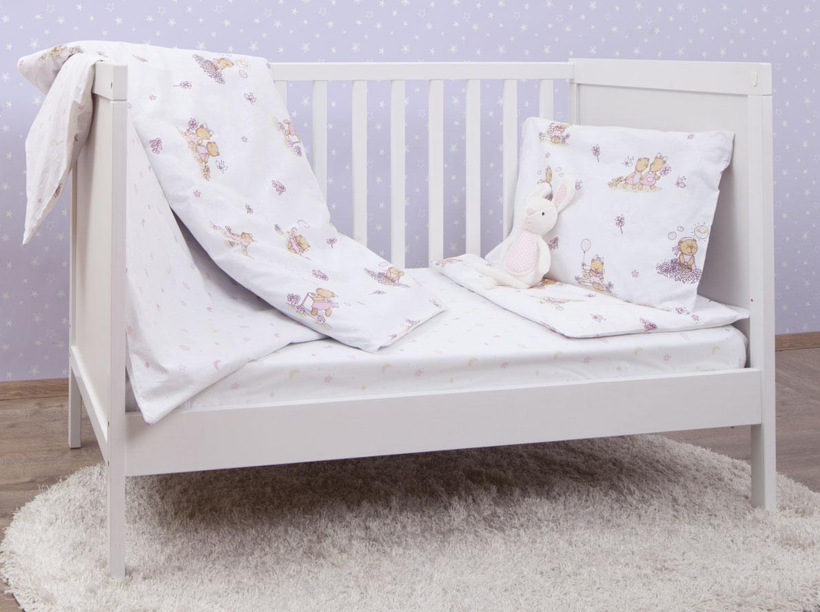 MIRAROSSI Комплект детского постельного белья Bambine Pink