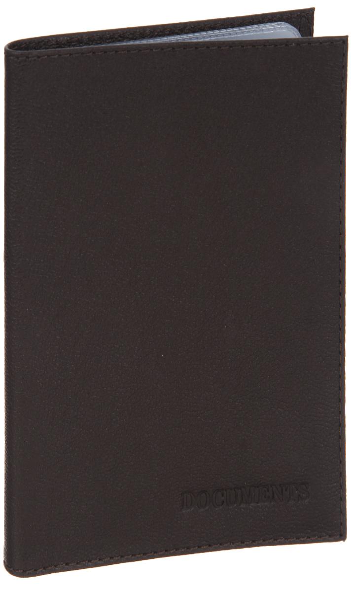 Обложка для автодокументов Fabula Largo, цвет: коричневый. BV.1.LG021201_01Обложка для автодокументов Fabula Largo выполнена из натуральной кожи с зернистой фактурой и оформлена тиснением с символикой бренда.Изделие раскладывается пополам. Внутри размещен вкладыш из прозрачного ПВХ, который содержит шесть файлов для документов.Изделие поставляется в фирменной упаковке.Стильная обложка для автодокументов Fabula Largo станет отличным подарком для человека, ценящего качественные и практичные вещи.