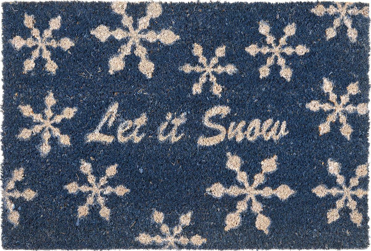 Коврик придверный Gardman Let it Snow, 40 см х 60 см коврик придверный sunstep грязесборный 60 х 40 см