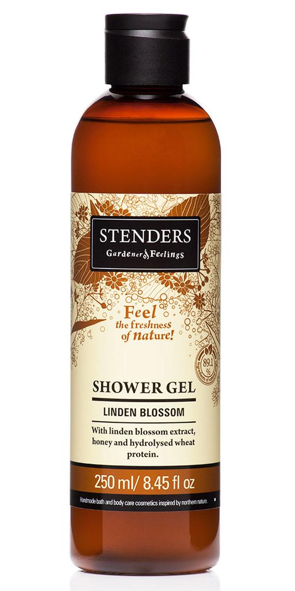 Stenders Гель для душа Липовый цвет, 250 млБ63003 мятаНежный гель для душа, наполненный природной свежестью, бережно очистит вашу кожу, даря ей гладкость и аромат. Для заботы о красоте кожи мы дополнили гель липовым экстрактом, мёдом и гидролизованным протеином пшеницы. Ощутите могущественную красоту природы в моменты, когда вас окутывает пышная пена и сладковатый аромат липы.Летними вечерами ничто не пахнет так сладко и пьяняще, как нежные цветы липы. Их экстракту присуще смягчающее действие, он поможет сохранить молодость вашей кожи. Кроме того, он богат марганцем и витамином С.