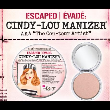 theBalm Хайлайтер Cindy Lou Manizer,8,5 гр1301210Хайлайтер Mary-Lou привлекает взгляд своим светящимся бронзовым оттенком. Придает коже сияние, мягкость и свежий вид. Можно использовать в качестве хайлатйтера на скулы, поверх румян или отдельно, а также как тени.