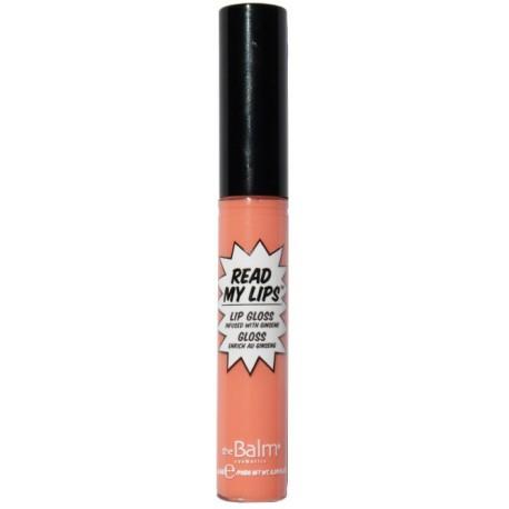 theBalm Блеск для губ Read My Lipgloss POP!,5,7 гр1301210Блеск для губ Read My Lips lipgloss Read My Lips. В формуле: экстракт женьшеня – мощный антиоксидант, защищает и восстанавливает нежную тонкую кожу губ. Нелипкая текстура комфортна в применении. Удобный аппликатор гарантирует точное нанесение и выделение контура губ. Палитра включает различные оттенки: от мягких полутонов для естественного макияжа до насыщенных ярких - для создания выразительных запоминающихся образов. Масса 5.7 g.