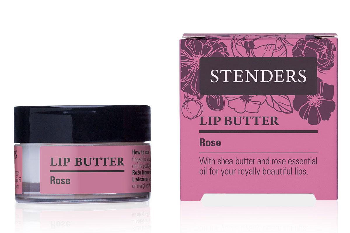 Stenders Масло для губ Роза, 7 гSVL_01Увлажняющее масло для губ «Роза» смягчит ваши губы и подарит им гладкость и нежность лепестка розы. Ощутите, как легко натуральное масло ши наносится на ваши губы, питая и успокаивая их. Пьянящий аромат розового эфирного масла унесет вас в королевский сад цветов, куда вам захочется вернуться вновь и вновь. 0% минерального масла Масло ши обладает свойством быстро впитываться в кожу, длительное время насыщая и защищая ее, делая кожу шелковисто-гладкой. Превосходно увлажняет, смягчает и восстанавливает кожу, а также задерживает ее старение.
