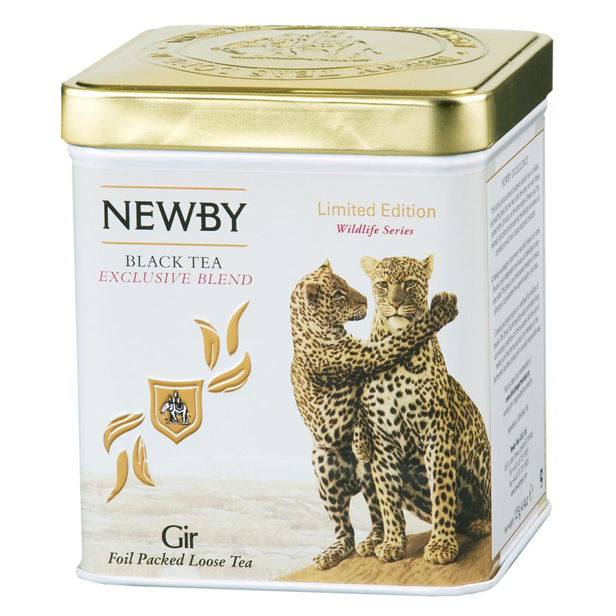 Newby Gir черный листовой чай, 125 г0120710Неповторимая смесь премиального черного чая Ассам с золотистыми типсами. Яркий настой с богатым солодовым ароматом и пряным послевкусием.