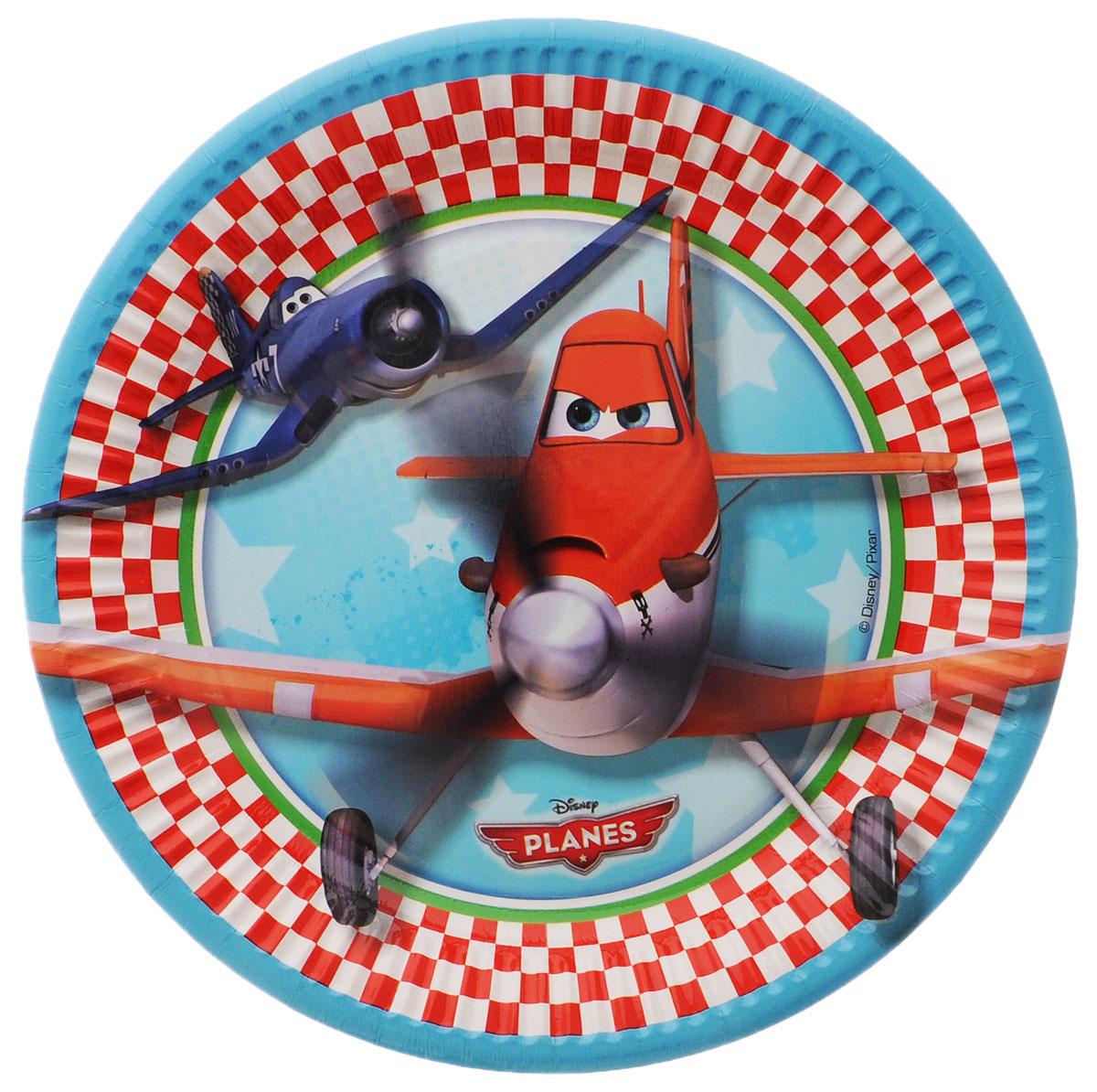 Procos Тарелка Самолеты 22,5 см 8 шт
