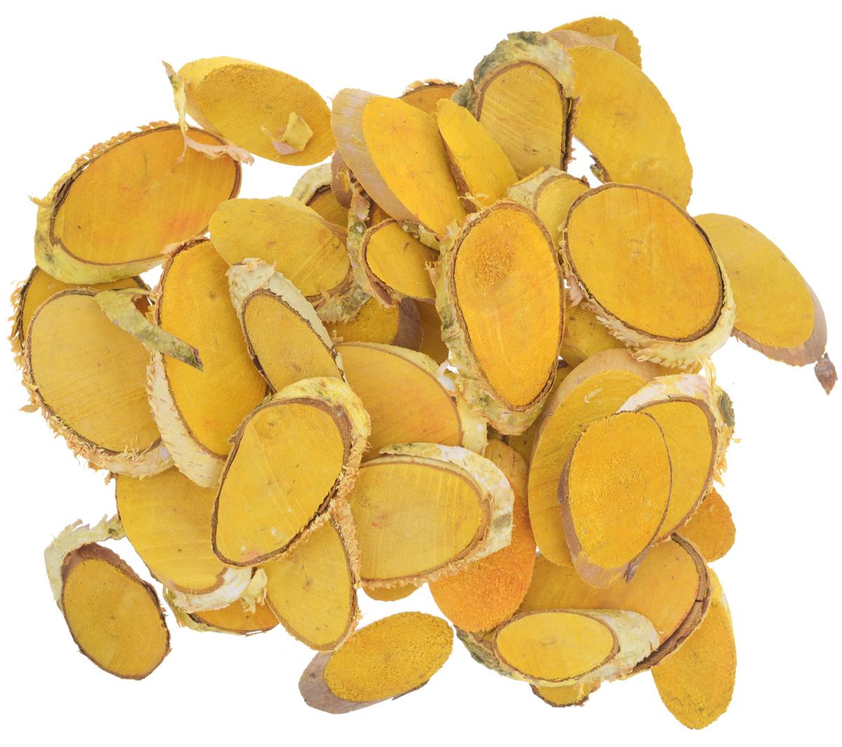 Декоративный элемент Dongjiang Art Срез ветки, цвет: желтый, толщина 7 мм, 250 г7708981_желтыйДекоративный элемент Dongjiang Art Срез ветки изготовлен из дерева. Изделие предназначено для декорирования. Срез может пригодиться во флористике и многом другом. Декоративный элемент представляет собой тонкий срез ветки. Флористика - вид декоративно-прикладного искусства, который использует живые, засушенные или консервированные природные материалы для создания флористических работ. Это целый мир, в котором есть место и строгому математическому расчету, и вдохновению, полету фантазии. Толщина среза: 7 мм.