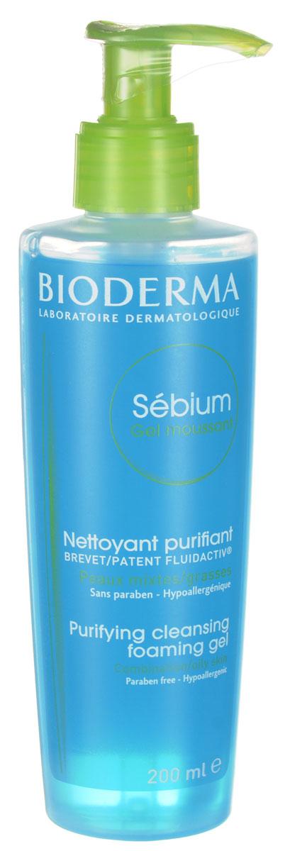Bioderma очищающий мусс Sebium 200 млБ63003 мятаМягкое очищающее средство для жирной и комбинированной кожи, кожи с акне. Уменьшает секрецию кожного сала, и улучшает его качество благодаря себокорректирующему комплексу Флюидактив. Очищающая основа без щелочи гарантирует великолепную переносимость кожей и слизистой глаз.Мягко очищает и улучшает качество себума