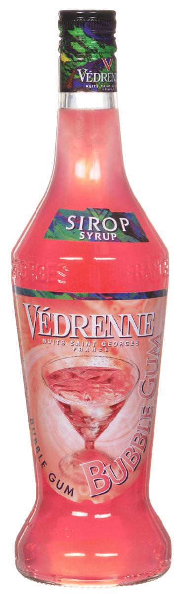 Vedrenne Баббл Гам сироп, 0,7 лSVDRBG-070B01Сироп Баббл Гам подарит вам неповторимые воспоминания о беззаботном детстве. Баббл гам известна во всем мире как жевательная резинка, которая состоит из желатиновой основы с различными вкусами. Сироп Баббл Гам представляет собой розовую густую консистенцию, которая отличается повышенным содержанием сахара (от 40% до 80%). Кроме того, в это лакомство входит экстракт жевательной резинки, который придает насыщенный вкус. Сироп Баббл Гам идеально сочетается с лимонадом, содовой, холодным и горячим чаем, кофе, компотом, молочными коктейлями, йогуртом. Сиропы изготавливаются на основе натурального растительного сырья, фруктовых и ягодных соков прямого отжима, цитрусовых настоев, а также с использованием очищенной воды без вредных примесей, что позволяет выдержать все ценные и полезные свойства натуральных фруктово-ягодных плодов и трав. В состав сиропов входит только натуральный сахар, произведенный по традиционной технологии из сахарозы. Благодаря...