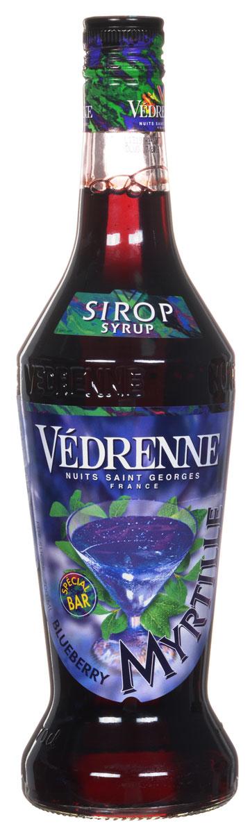 Vedrenne Голубика сироп, 0,7 лSVDRMY-070B01Сироп Голубика обладает выразительным вкусоароматом свежих ягод голубики. Данный продукт производится на основе натурального ягодного сока первого отжима с добавлением очищенной воды и сахара. Голубика весьма неприхотлива, поэтому это растение встречается практически на всех континентах. Сиропом поливают блины, оладьи и вафли, а особенно хорошо сироп из голубики сочетается со сливочным мороженым. Сиропы изготавливаются на основе натурального растительного сырья, фруктовых и ягодных соков прямого отжима, цитрусовых настоев, а также с использованием очищенной воды без вредных примесей, что позволяет выдержать все ценные и полезные свойства натуральных фруктово-ягодных плодов и трав. В состав сиропов входит только натуральный сахар, произведенный по традиционной технологии из сахарозы. Благодаря высокому содержанию концентрированного фруктового сока, сиропы Vedrenne обладают изысканным ароматом и натуральным вкусом, являются эффективным подсластителем при незначительной...