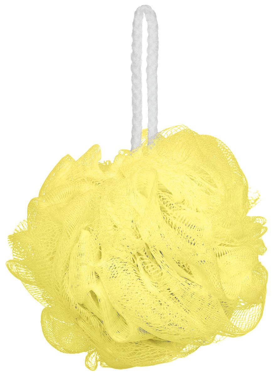 Riffi Мочалка-губка Массажный цветок, средняя, цвет: желтый. 340М35_зеленыйМочалка Riffi Массажный цветок не вызывает аллергии, обладает хорошими моющими и пилинговыми свойствами. Она дает много пены при малом количестве мыла или моющего геля. Для удобства применения снабжена веревочной петлей.Товар сертифицирован.