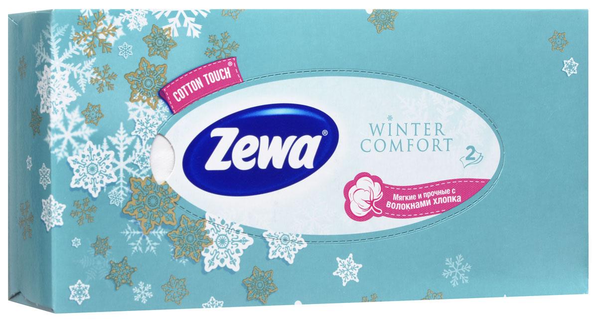 Zewa Платки косметические в коробке Winter comfort, двухслойные, цвет: бирюзовый, 100 шт02.03.05.6286_бирюзовыйМягкие двухслойные гигиенические салфетки Zewa Winter comfort изготовлены из 100% целлюлозы и волокон. Обладают большой впитывающей способностью. Не вызывают аллергии, не раздражают чувствительную кожу. Просты и удобны в использовании. Товар сертифицирован.
