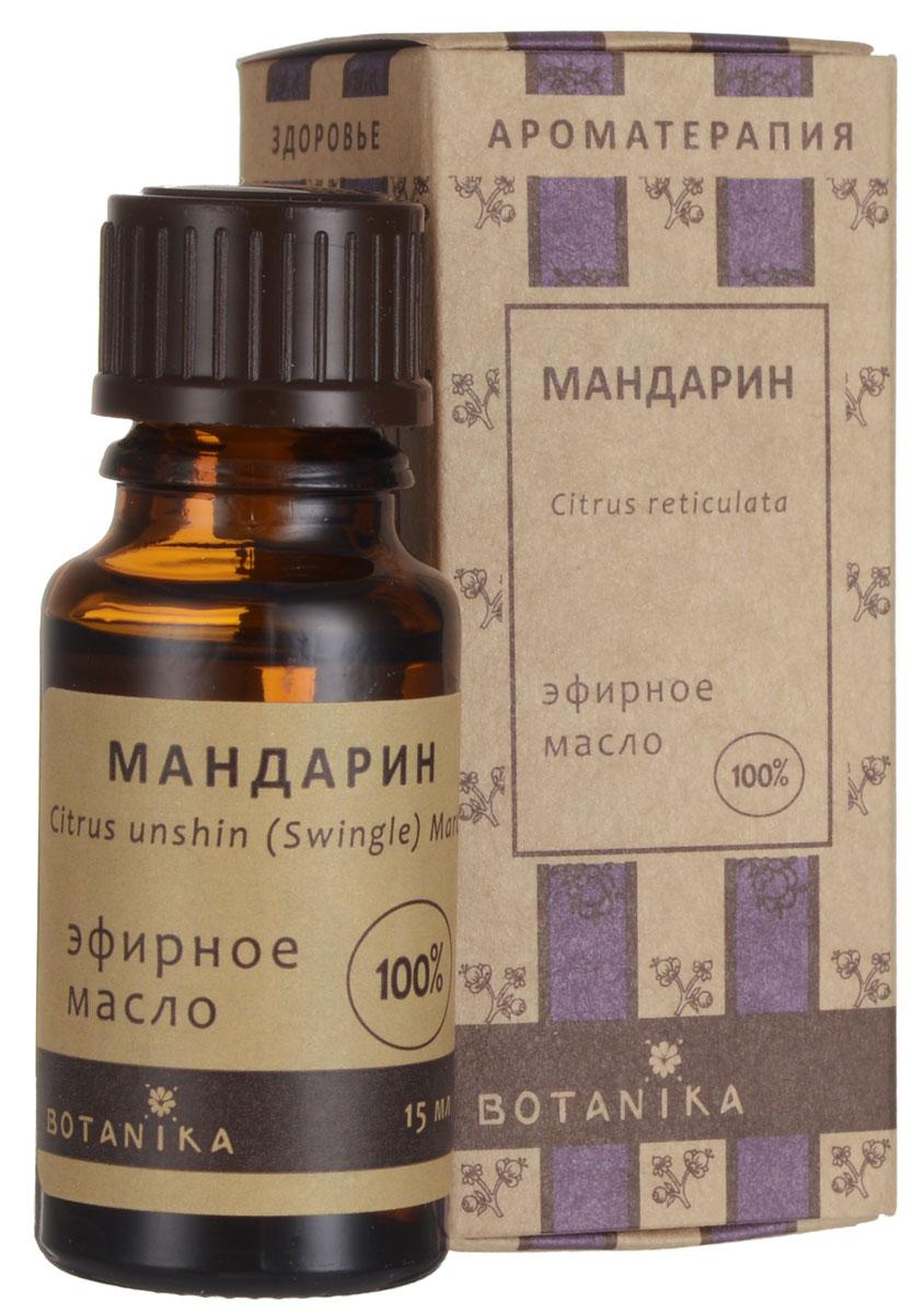 Botanika Эфирное масло Мандарин, 15 млFS-00103Эфирное масло Botanika Мандарин укрепляет волосы, способствует заживлению рубцов на коже, улучшает цвет кожи, разглаживает морщины. Добавляются в качестве активных ингредиентов в косметические смеси для ухода за кожей лица и тела, волосами, ногтями. Используются в ароматерапии. Характеристики:Объем: 15 мл. Артикул: 00007675. Производитель: Россия. Товар сертифицирован.