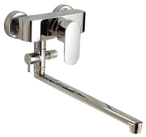 Смеситель для ванны/душа Gro Welle ДИ Mandarine. MDR72268/5/3Смеситель для ванны и душа Gro Welle Mandarin сочетает в себе отличные эксплуатационные характеристики и оригинальный дизайн. Керамический картридж Sedal 40 мм (Испания) - надежный рабочий элемент, выдерживающий давление более 3,5 Атм. Рассчитан на беспрерывную работу в 1500000 циклов - это примерно 30 лет эксплуатации. Аэратор Neoperl Cascade (США) изготовлен из высококачественного пластика, благодаря чему на нем не образуется налет. Водная струя насыщается воздухом, становится ровной и без брызг. Тело смесителя отлито из высококачественной, безопасной для здоровья пищевой латуни. Хромоникелевое покрытие Crystallight придает изделию яркий металлический блеск и эстетичный внешний вид. Имеет водоотталкивающие свойства, благодаря которым защищает тело смесителя. Устойчив к кислотным и щелочным чистящим средствам. Смеситель Gro Welle Mandarin эргономичен, прост в монтаже и удобен в использовании. В комплект входит: смеситель, набор для монтажа.Длина излива смесителя: 40 см.Гарантийный срок на смеситель (за исключением шлангов, резиновых сальников и прокладок) составляет 7 лет с момента продажи. Гарантийный срок на шланги, сальники и прокладки - 1 год.